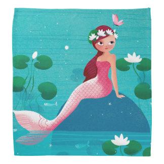 Pink Mermaid Bandana