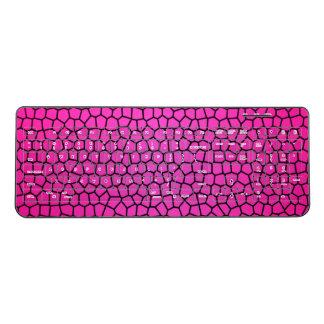Pink Mermaid Design Keyboard
