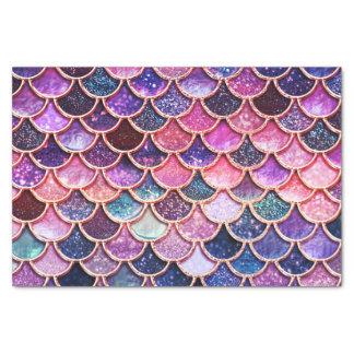 Pink Mermaid Glitter Scales- Mermaid Scales Tissue Paper