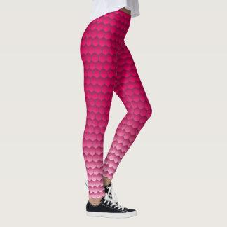 Pink Mermaid Leggings