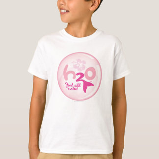 Pink Mermaid Pattern T-Shirt