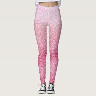 Pink Mermaid Scaly Legs Leggings