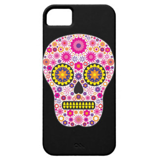 Pink Mexican Sugar Skull iPhone 5 Cases