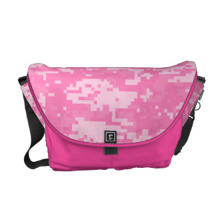 Pink Military ACU's Pattern Courier Bags