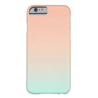 Pink Mint Ombre Barely There iPhone 6 Case