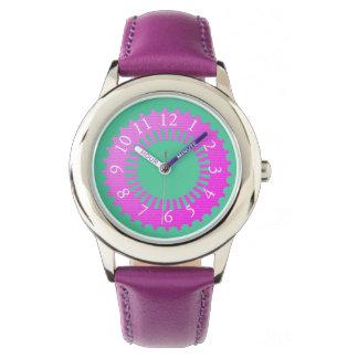 Pink_Mint Wristwatch