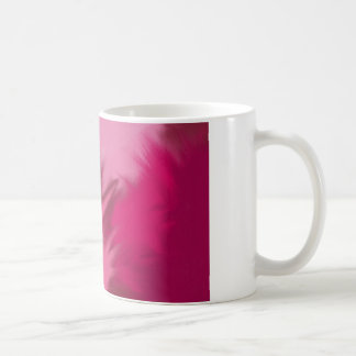 Pink misty smoke. coffee mug