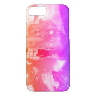 Pink Modern Art Photo Phone Case