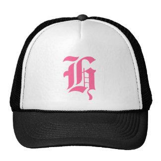 Pink Monogram H Trucker Hat