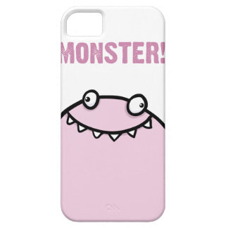 Pink Monster Funny Girls iPhone 5 Cover