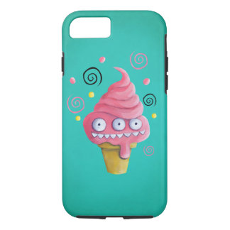 Pink Monster Ice Cream Cone iPhone 8/7 Case