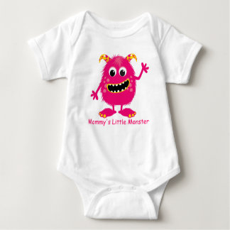 Pink Monster Infant Creeper (Baby Shirt)