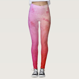 Pink Mood Custom Leggings