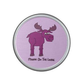 Pink Moose on the Loose Speaker