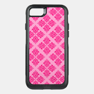 Pink Moroccan Damask OtterBox Commuter iPhone 8/7 Case