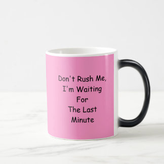 Pink Morphing Joke Coffee Tea Mug