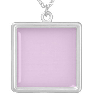 Pink Mosaic Silver Plated Necklace