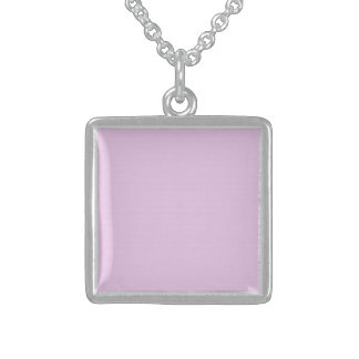 Pink Mosaic Sterling Silver Necklace