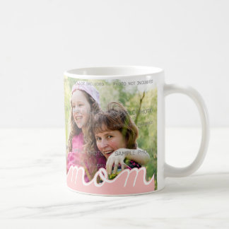 Pink Mother's Day Personalized  Mugs with Photo