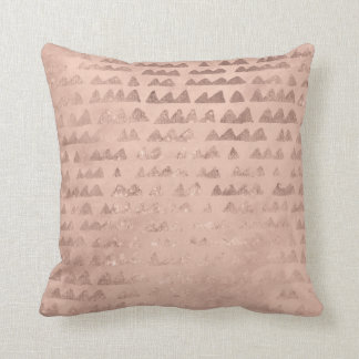 Pink Mountains Cushion