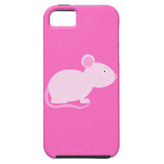 Pink Mouse. iPhone 5 Case