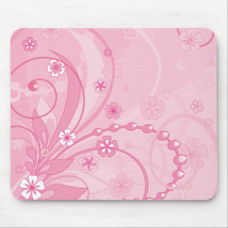 pink mouse mat