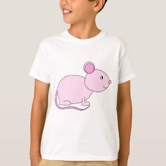 Pink Mouse. T-Shirt