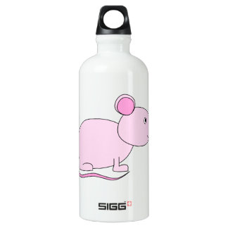 Pink Mouse. Water Bottle