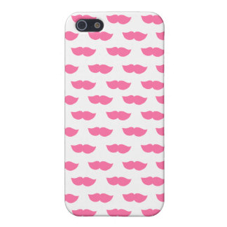 Pink Moustaches iPhone 5 Cover
