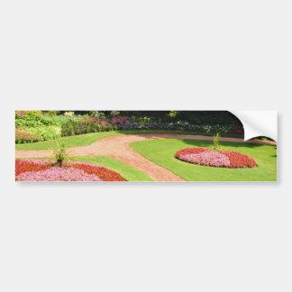 Pink Muir Gardens, Toronto, Ontario flowers Car Bumper Sticker