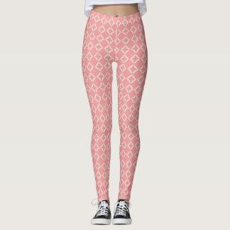 Pink Multi-Print Leggings