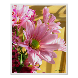Pink Mum 2 Poster by gretchen