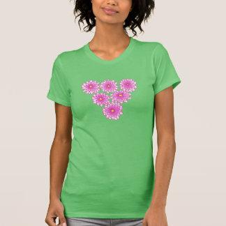 Pink Mums Flowers Chrysanthemums Shirts