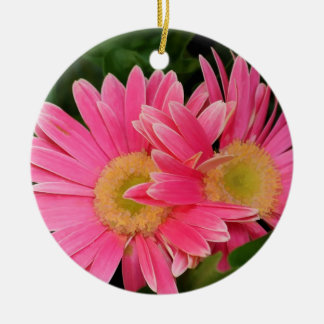 PINK MUMS ORNAMENT