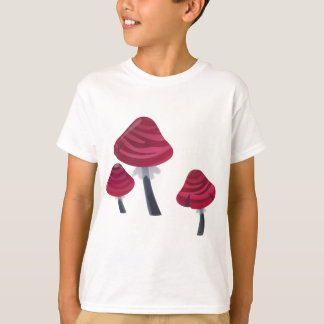 Pink Mushrooms T-Shirt