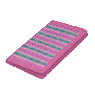 Pink Music Tri-fold Wallet