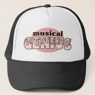 Pink Musical Genius Trucker Hat