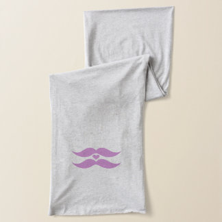 Pink Mustaches scarfs Scarf