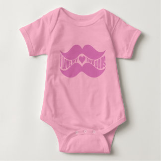 Pink Mustaches shirt – choose style, color