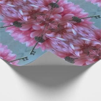 Pink n Aqua Wrapping Paper
