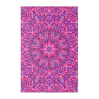 Pink n Purple Kaleidoscope Acrylic Wall Art