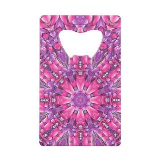 Pink n Purple  Kaleidoscope  Credit Card Openers