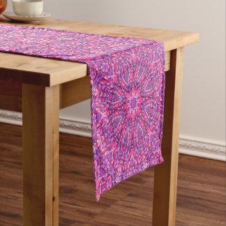 Pink n Purple Kaleidoscope  Table Runner