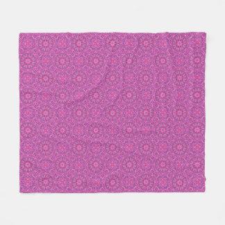 Pink n Purple  Two  Fleece Blankets, 3 sizes