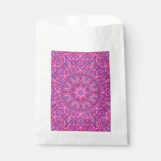 Pink n Purple Vintage Kaleidoscope  Favor Bags