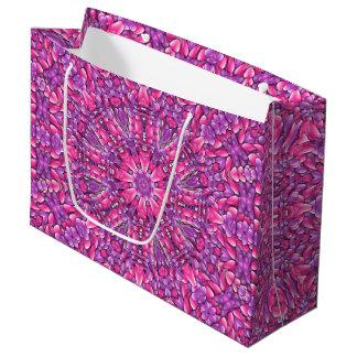 Pink n Purple Vintage Kaleidoscope   Gift Bags