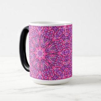 Pink n Purple Vintage Kaleidoscope Morphing Mug