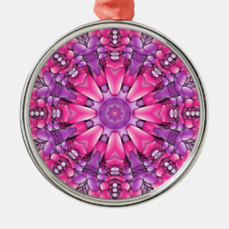 Pink n Purple  Vintage Kaleidoscope  Ornaments
