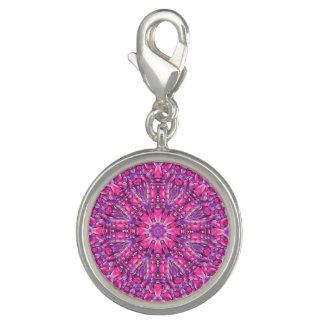 Pink n Purple Vintage Pattern  Charm