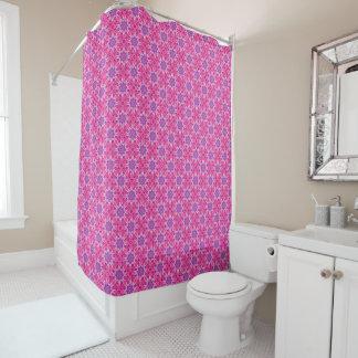Pink n Purple  Vintage Shower Curtain